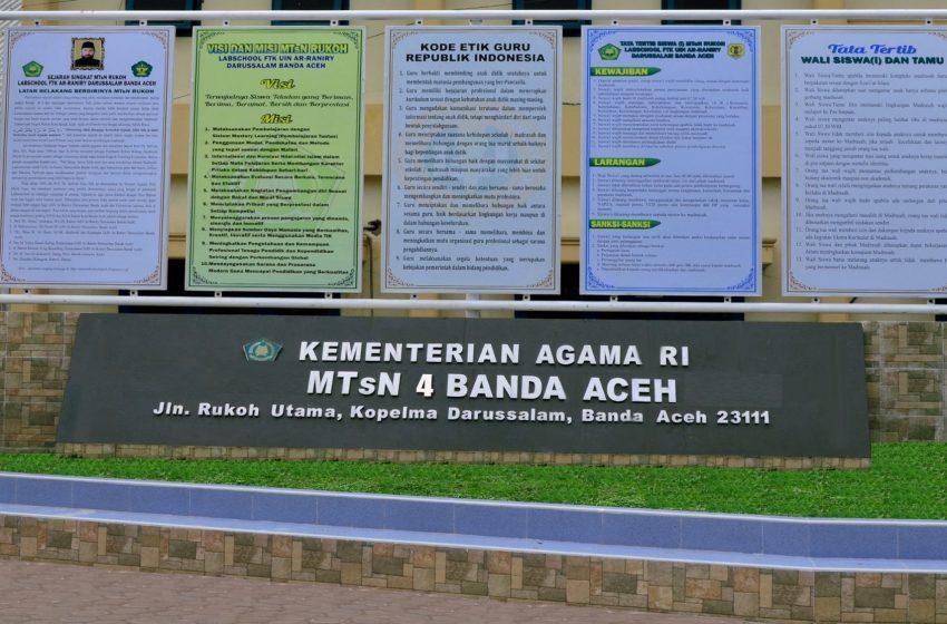 Selamat Datang Di Mtsn Mtsn 4 Banda Aceh