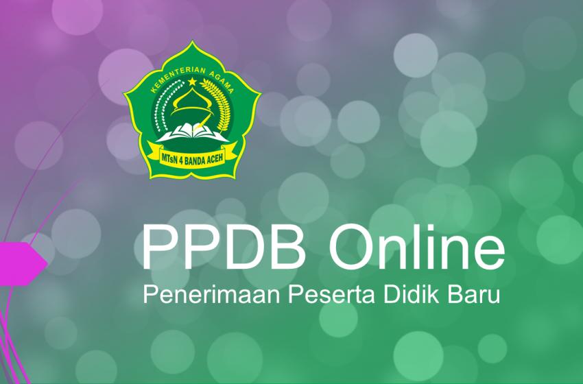 Ppdb Online Kelas Khsusus Mtsn 4 Banda Aceh
